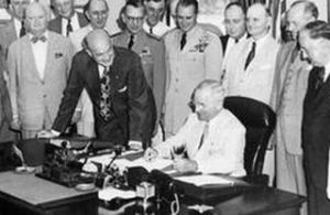 Harry Truman Signs The National Surveillance Act - 1947